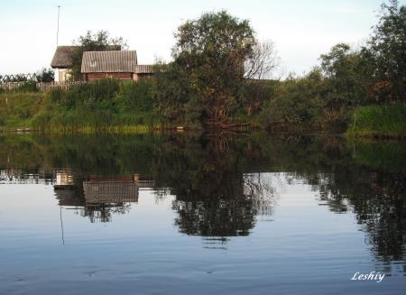 Осень деревня фото
